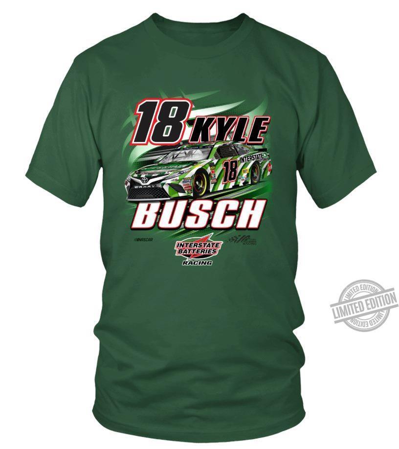18 Kyle Bosch Interstate Batteries Racing Shirt