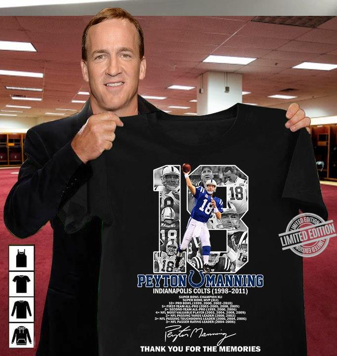 18 Peyton Manning Thank You For The Memories Shirt