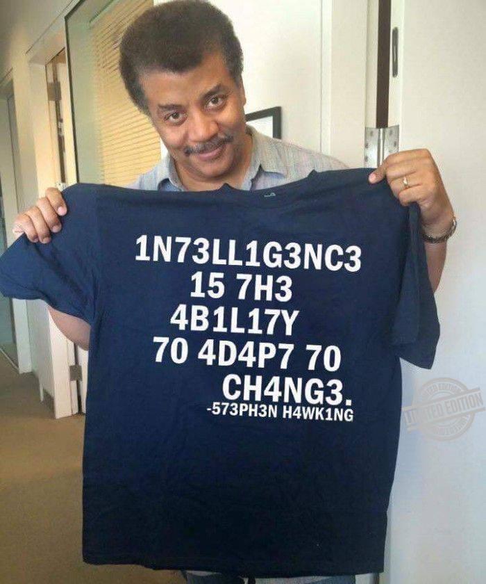 1N73LL1G3NC3 15 7H3 4B1L17Y Shirt