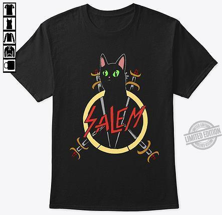 A Black Cat Salem Shirt