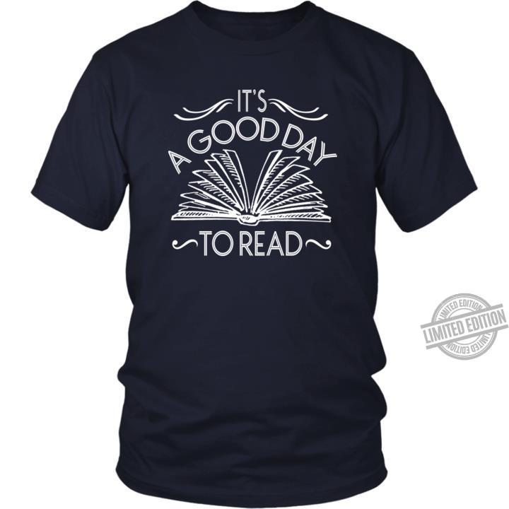 A Good Day To Read Shirt