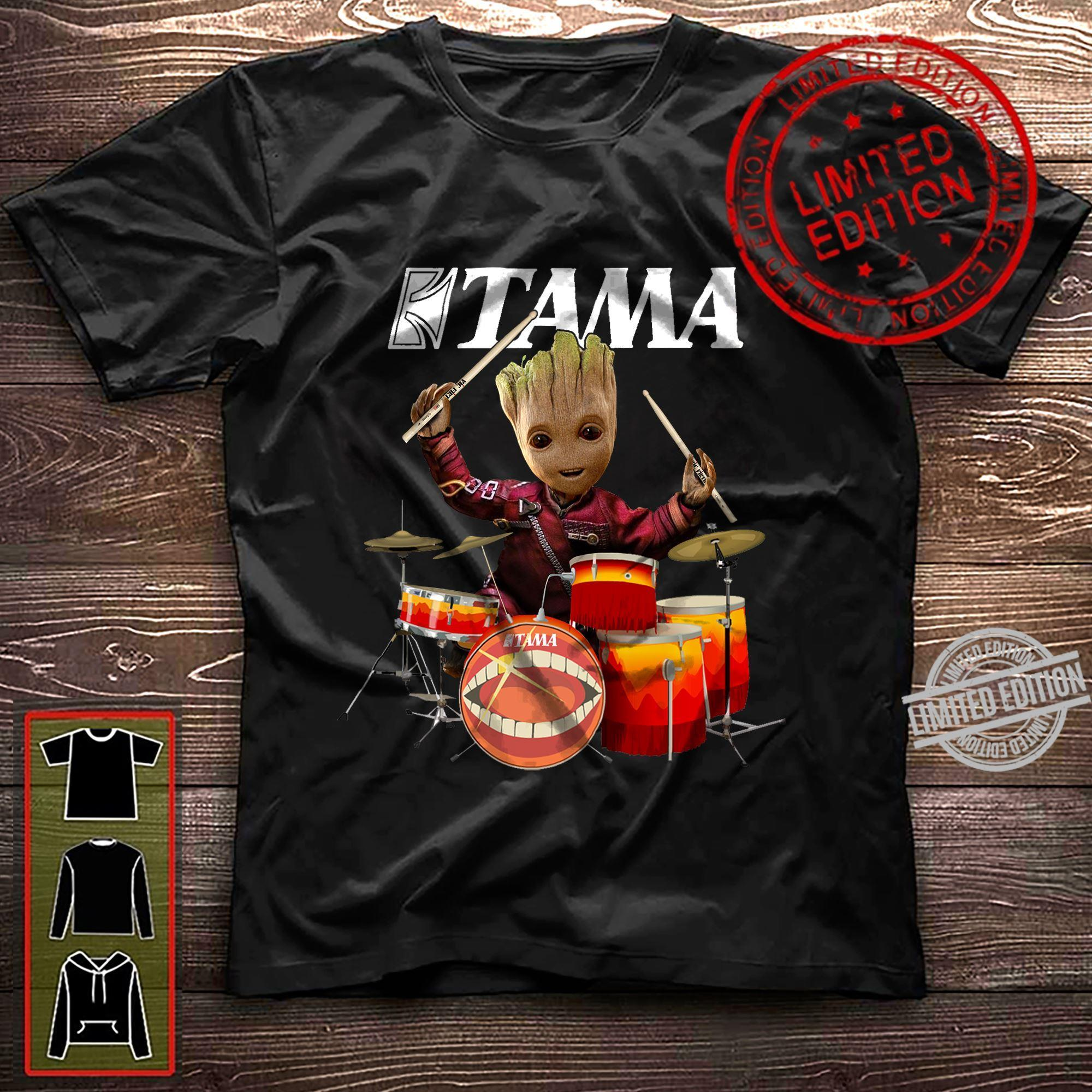 A Groot Is Drummer Tama Shirt