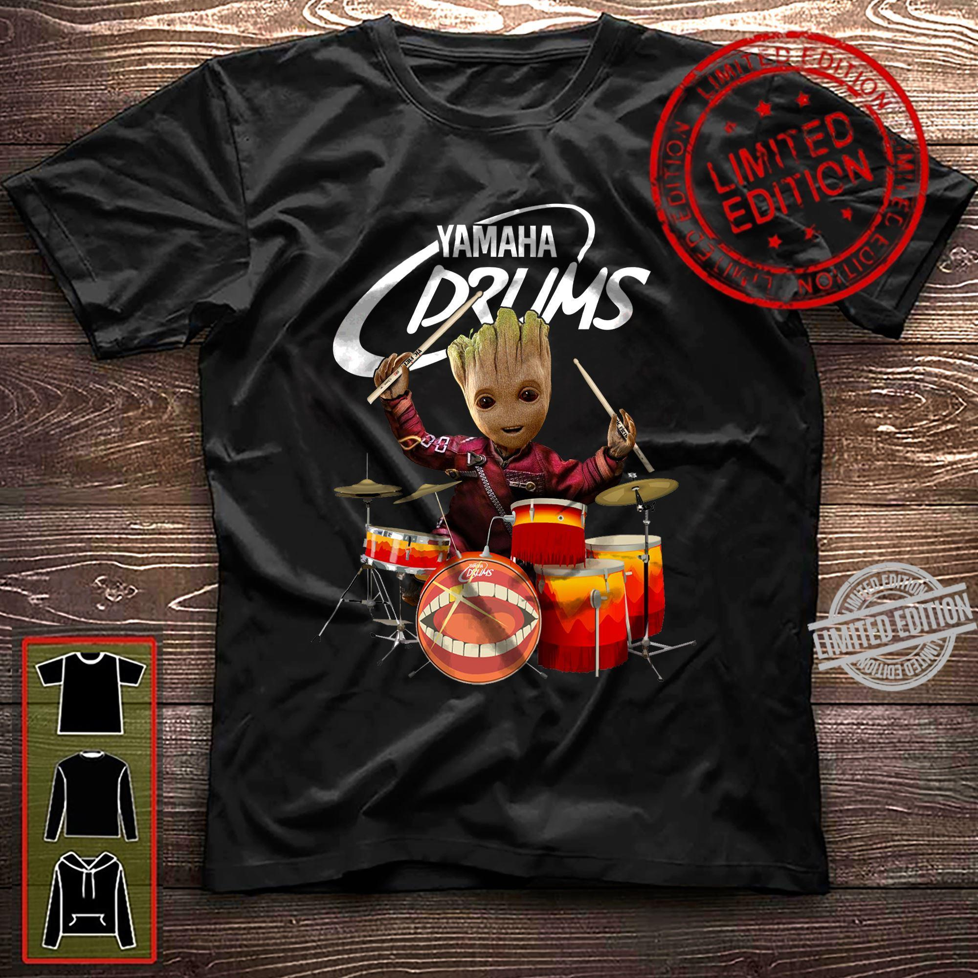 A Groots And Yamaha Drums Shirt