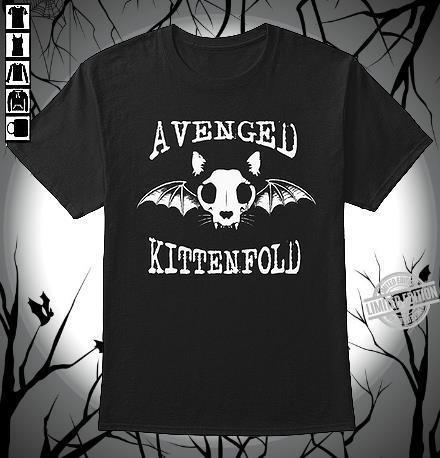 A Venged Kitten Fold Shirt