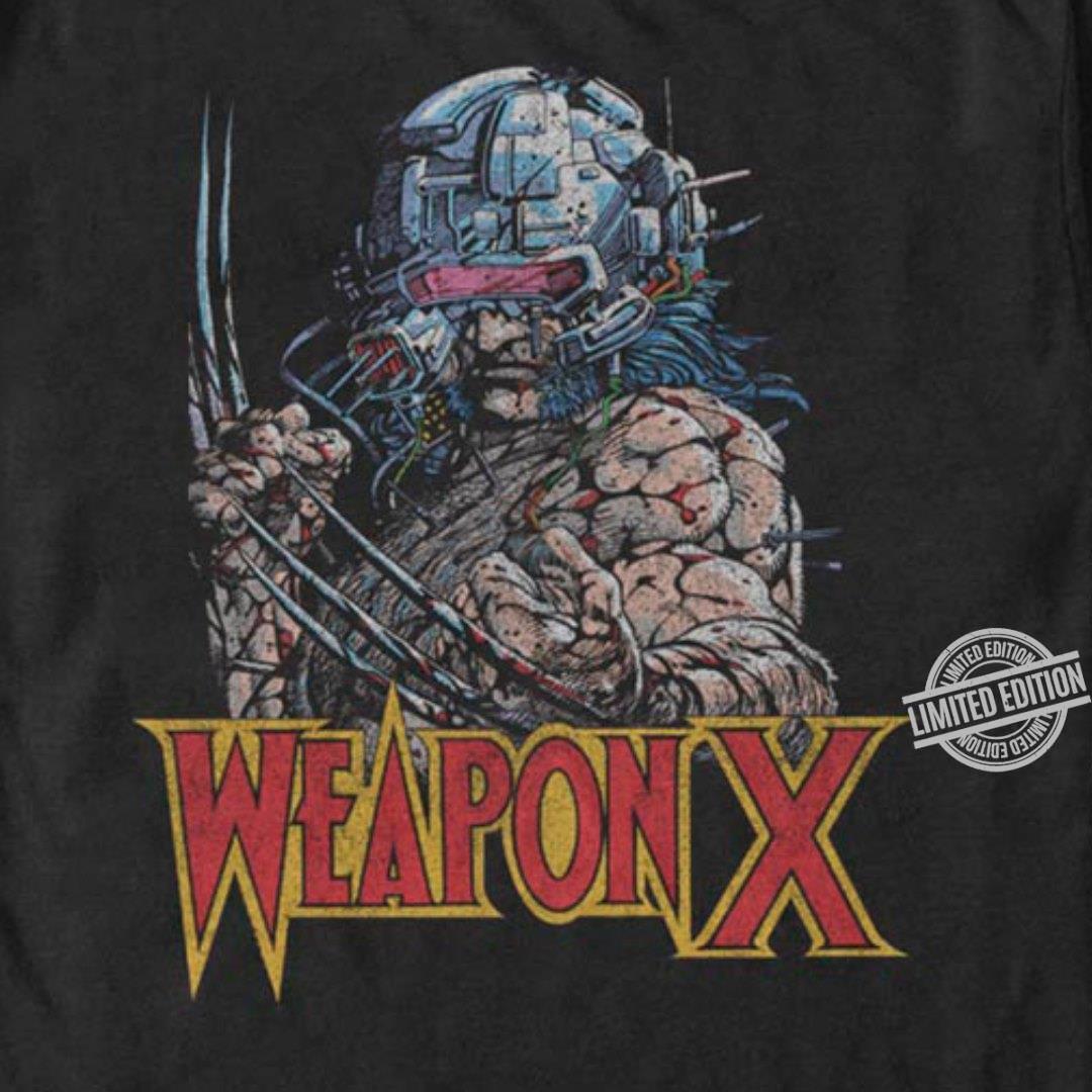 A Wolfman Weapon X Shirt