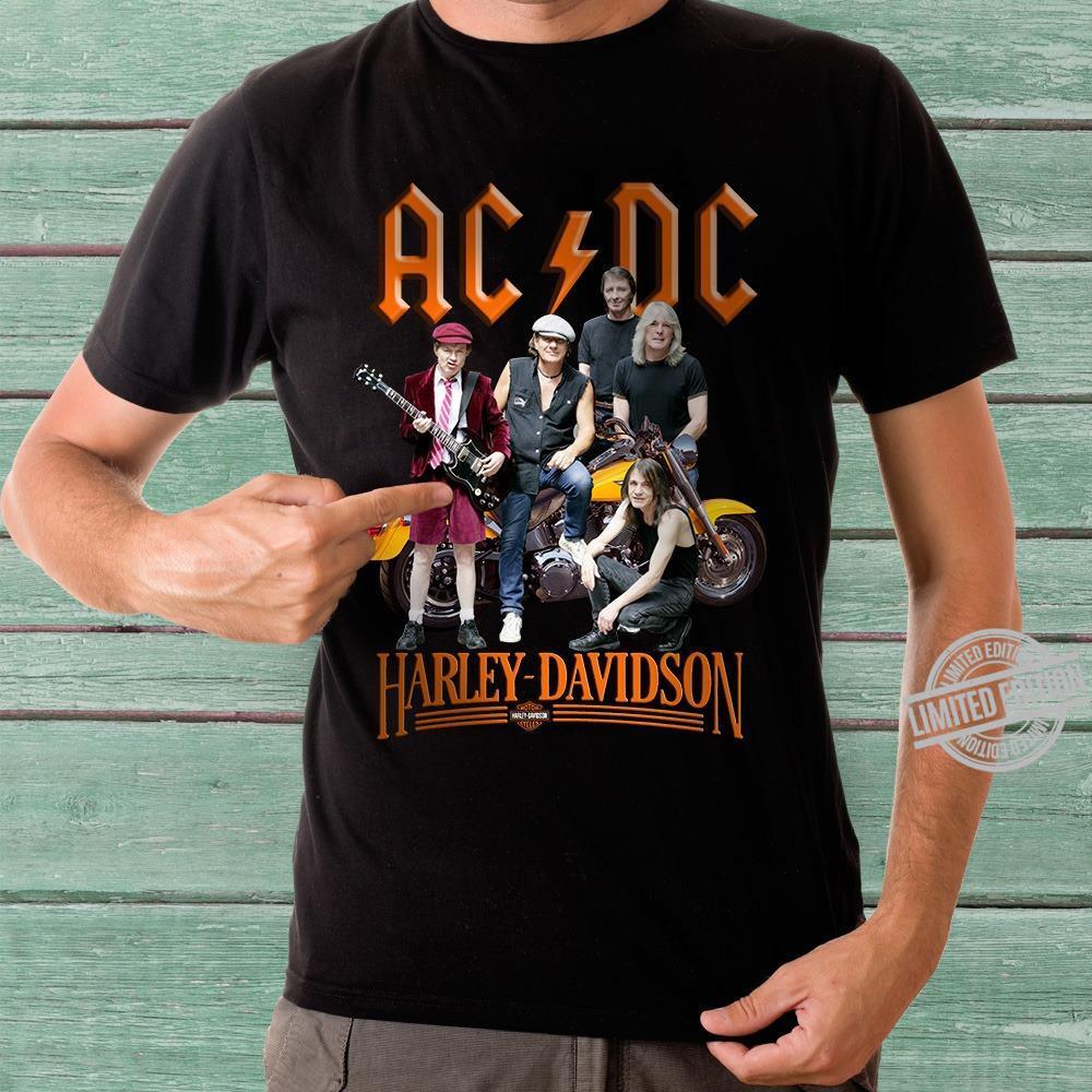 AC DC Harley Davidson Motorcycles Shirt