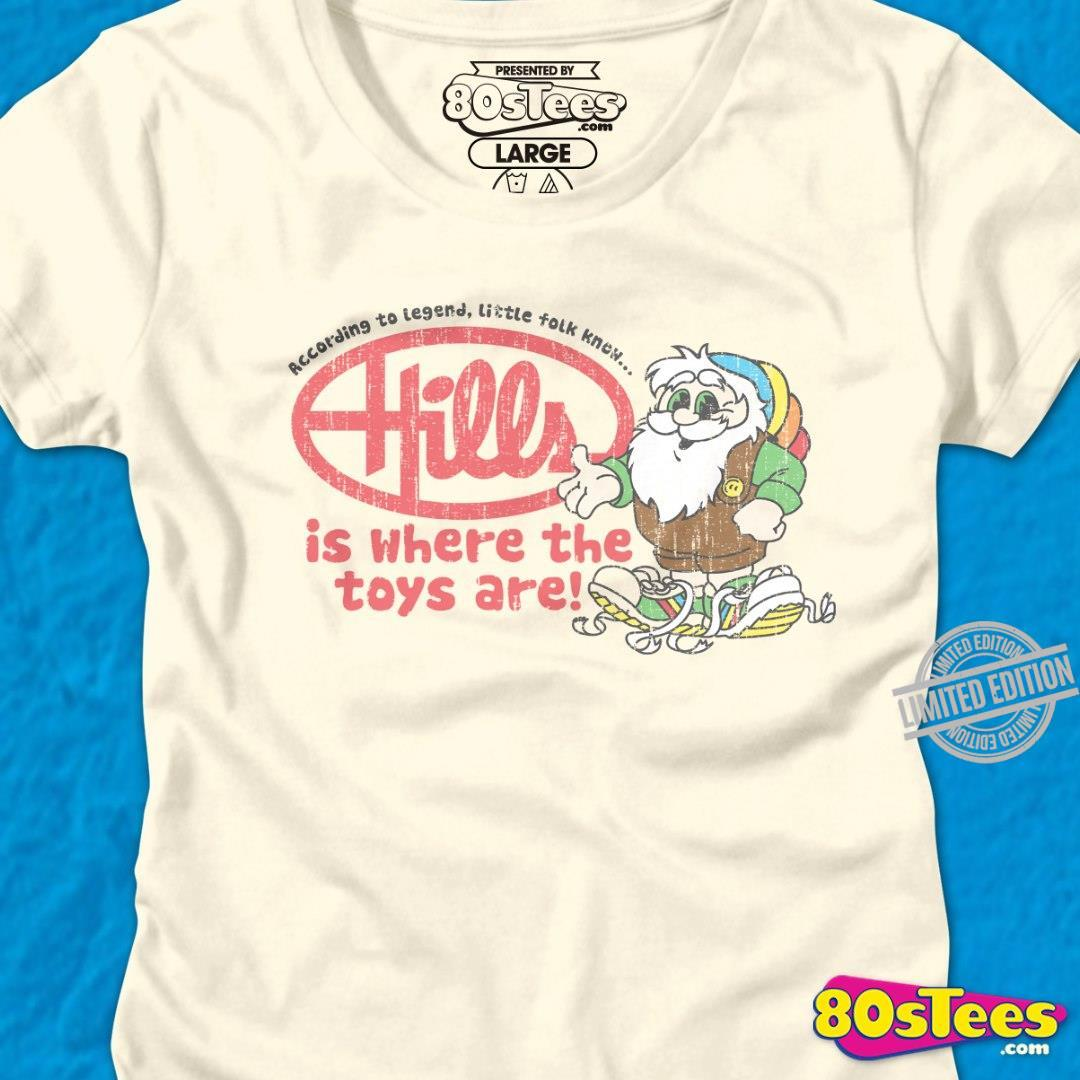 According To Legend Little Tolk Knew Hills Is Where The Toys Are Shirt