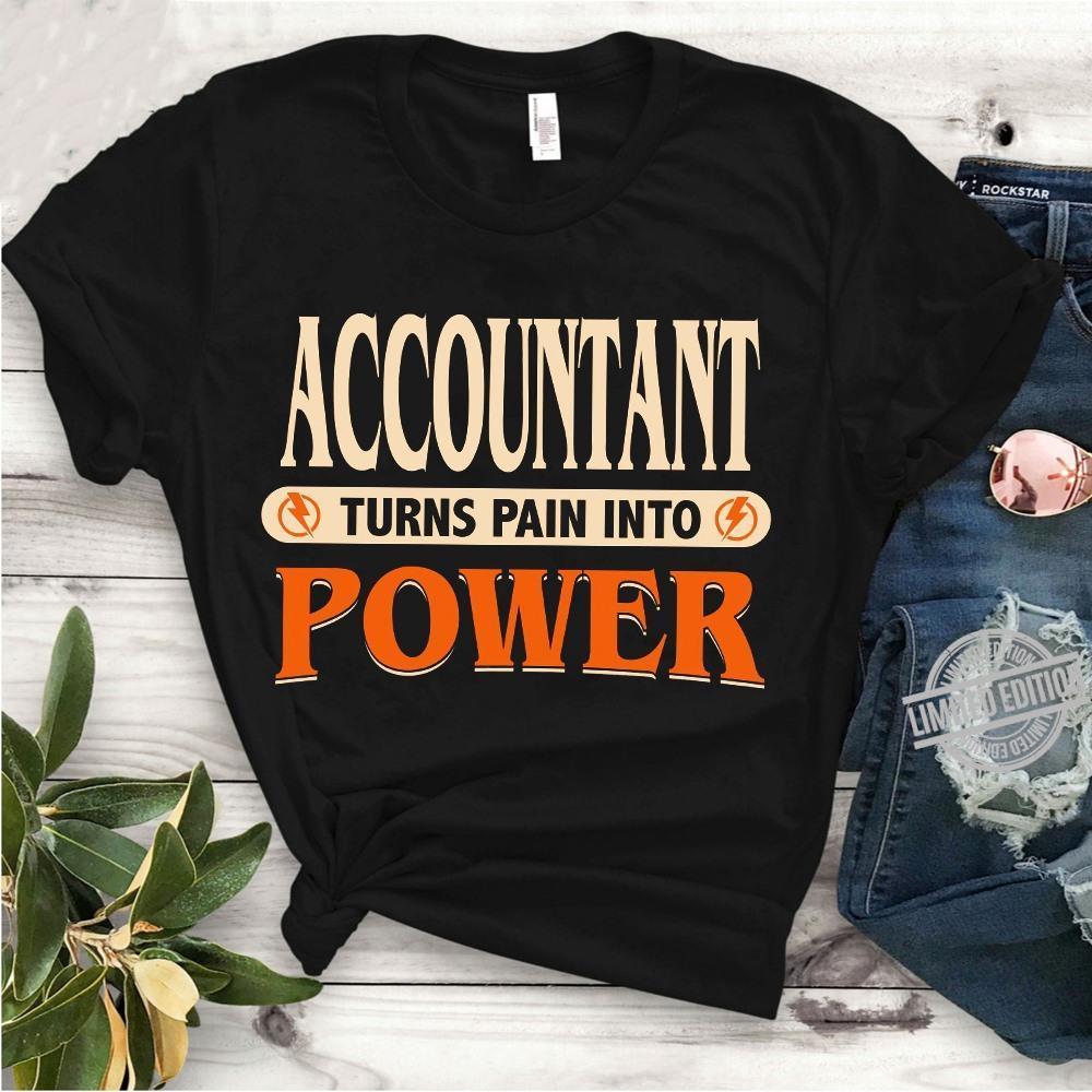 Accountant Turns Pain Into Power Shirt
