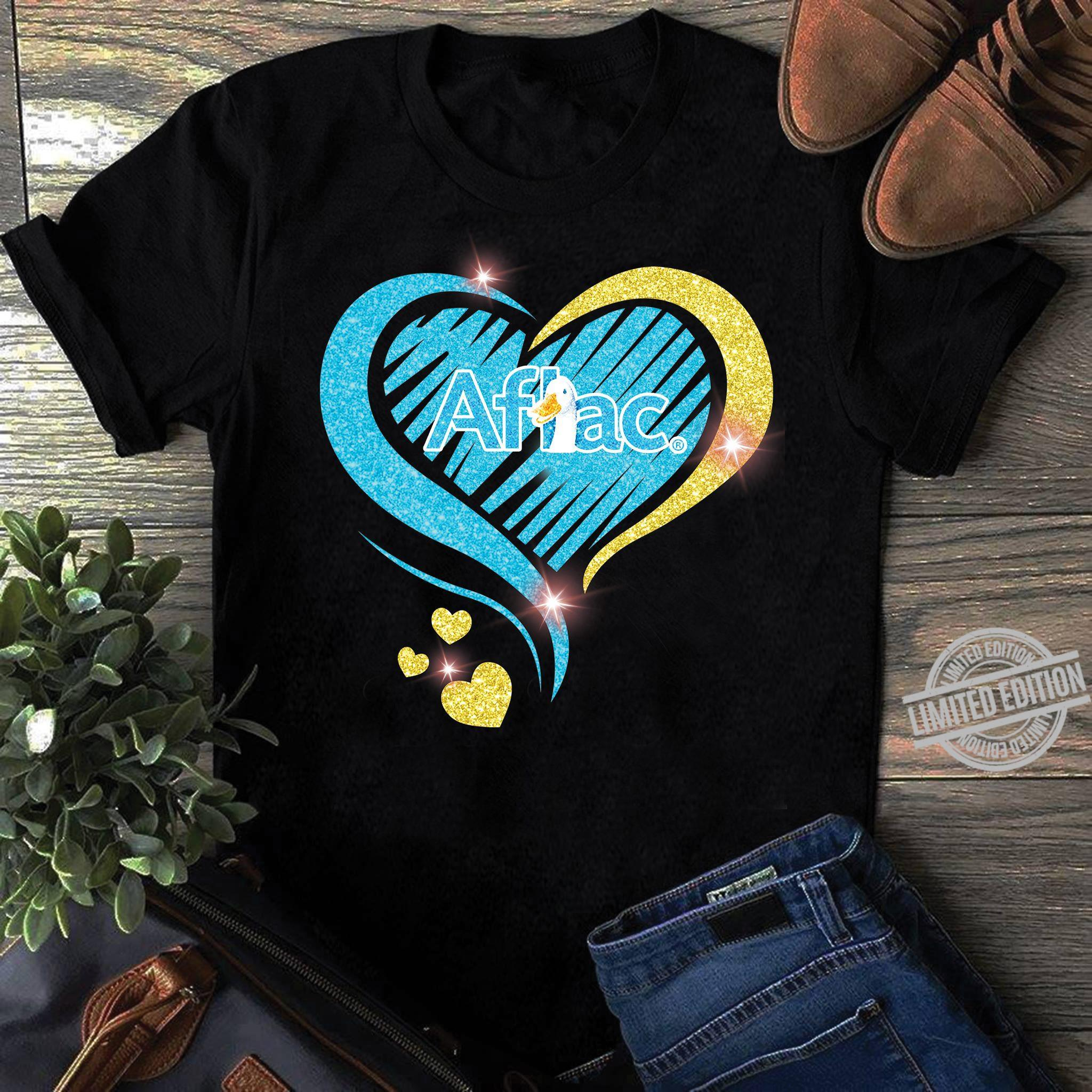 Aflac In The Diamond Heart Shirt