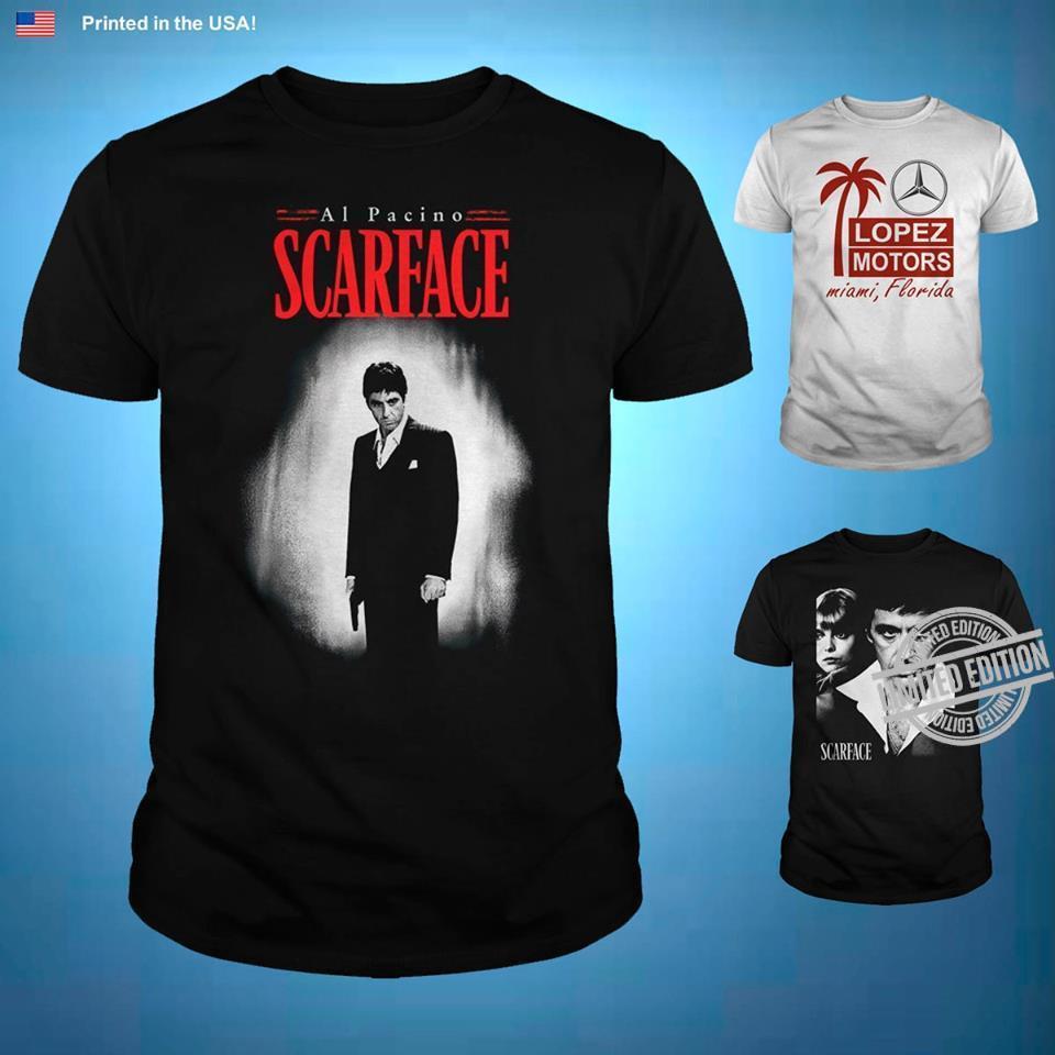 Al Pacino Scarface Shirt