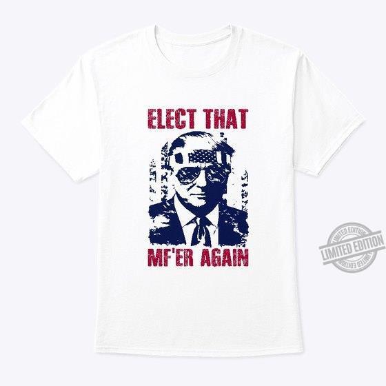 Alect That Mf'er Again Shirt
