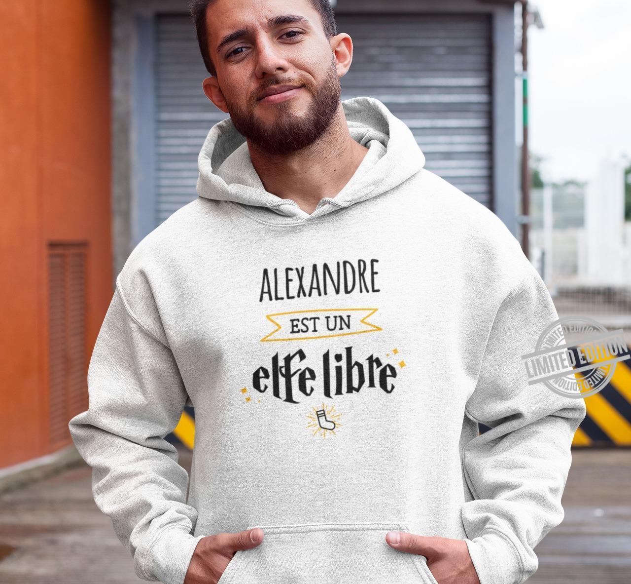 Alexandre Est Un Alfe Libre Shirt