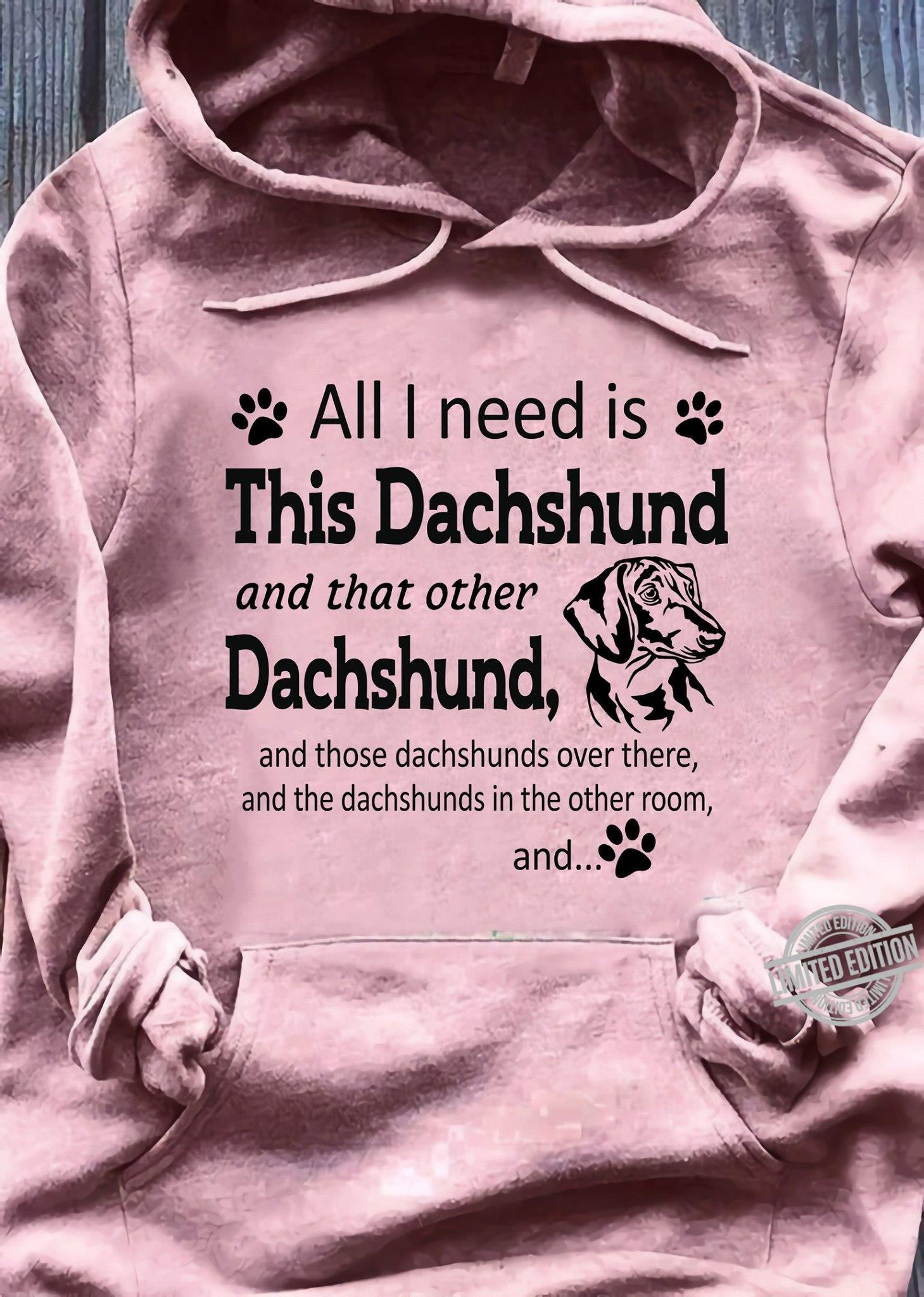 All I Need Is This Dachshund And That Other Dachshund Shirt