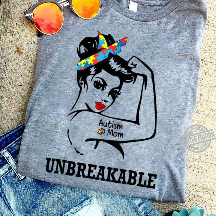 Autism Mom Anbreak Able Shirt