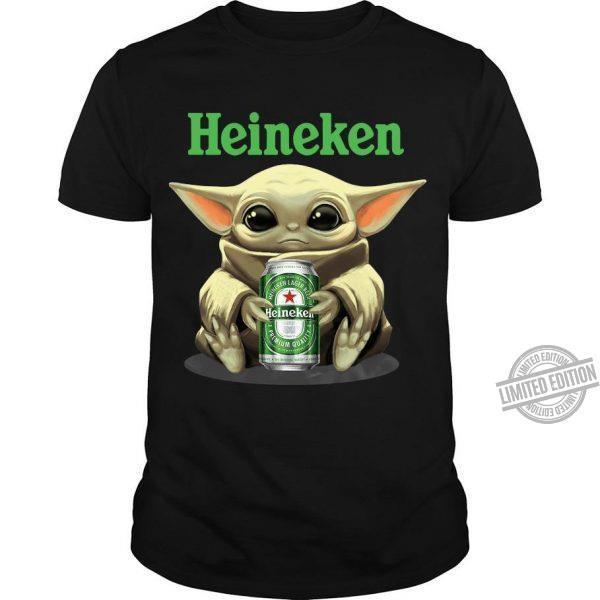 Baby Yoda And Heineken Shirt