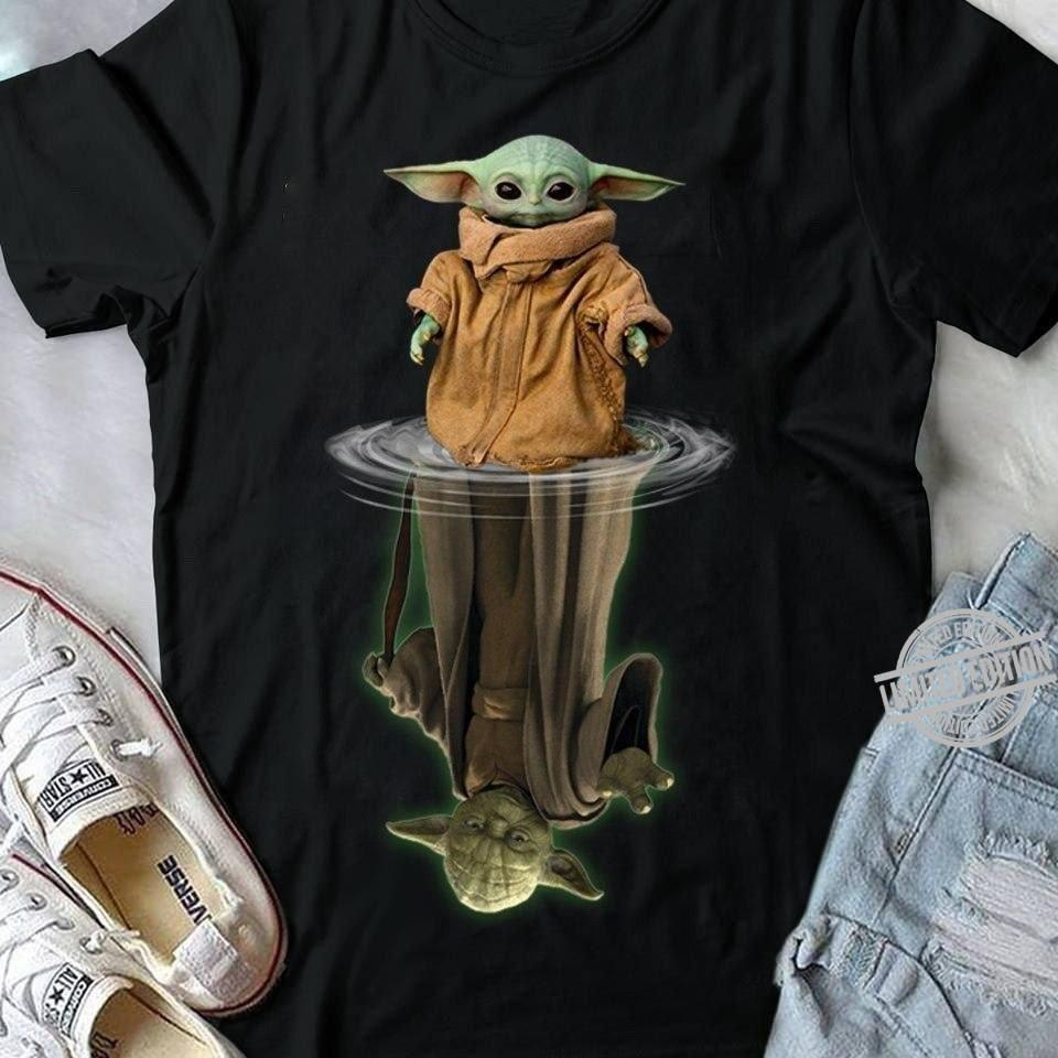 Baby Yoda And Old Yoda Shirt