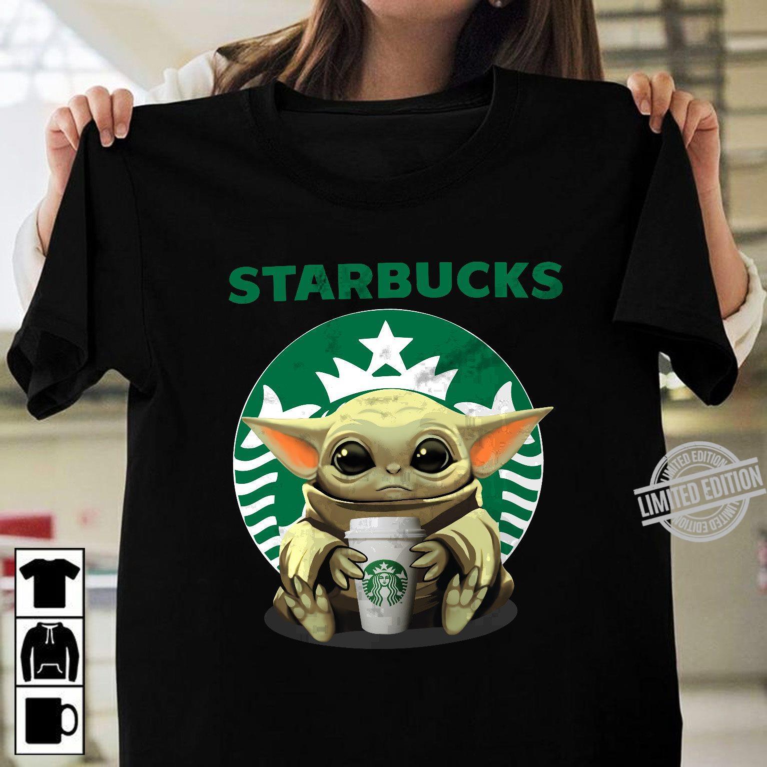 Baby Yoda And Starbucks Shirt