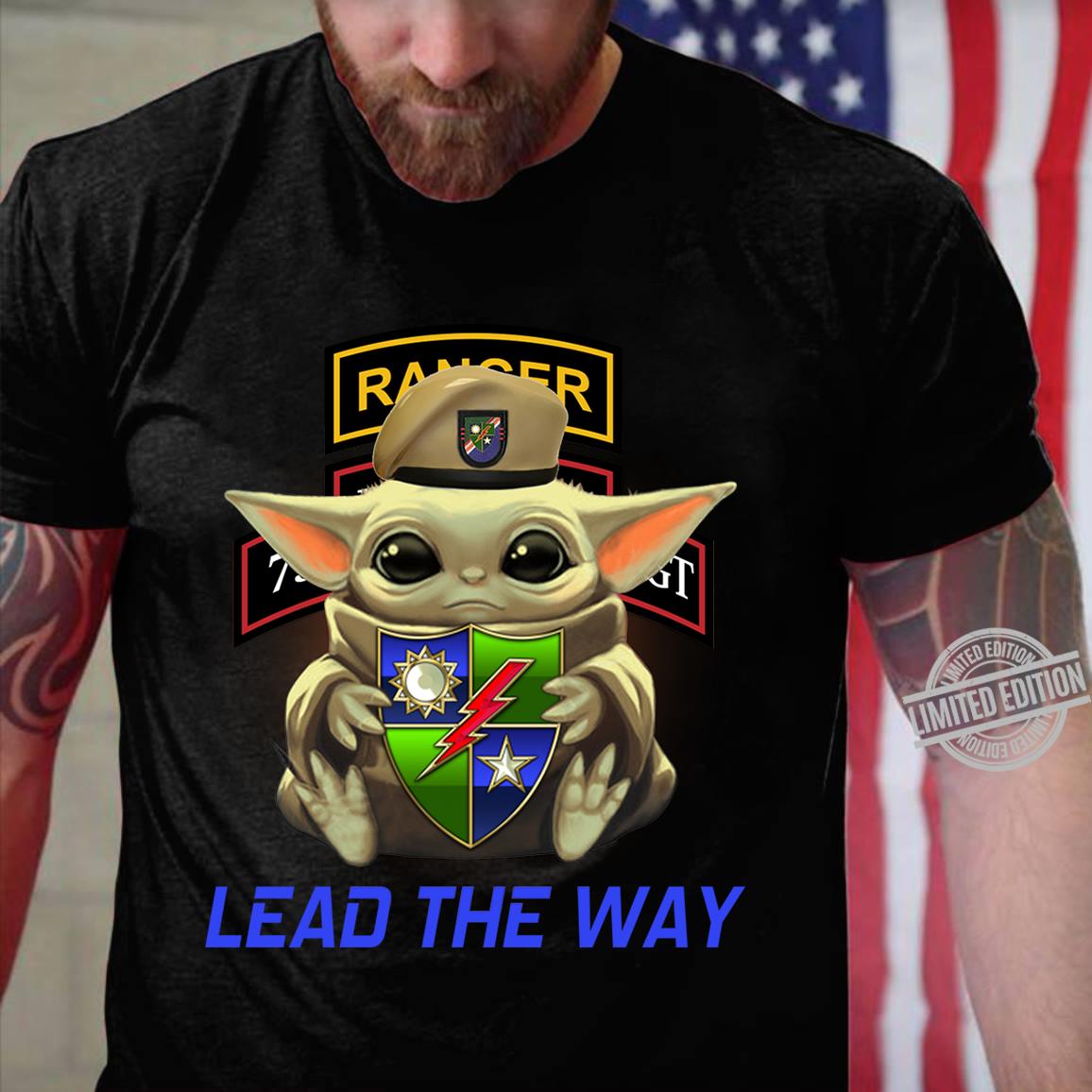 Baby Yoda Ranger Lead The Way Shirt