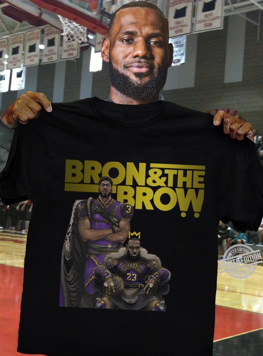 Bron & The Brow Lakers Player Shirt