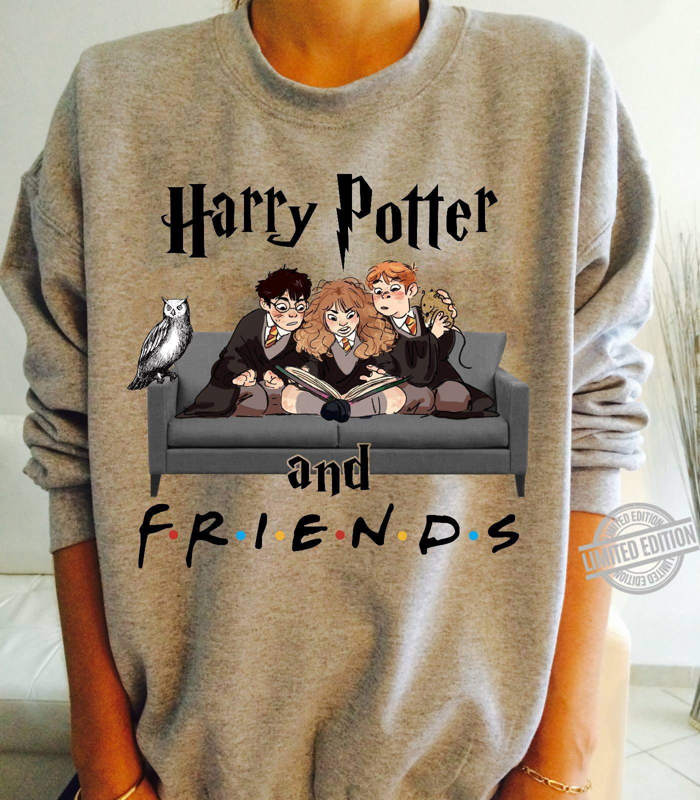 Harry Potter And Friends Read Book Shirt