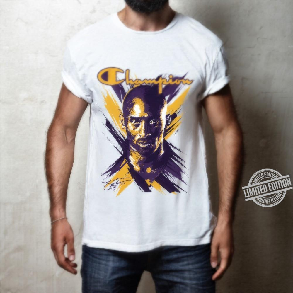 Lakers Champion Kobe Bryant Signature Shirt