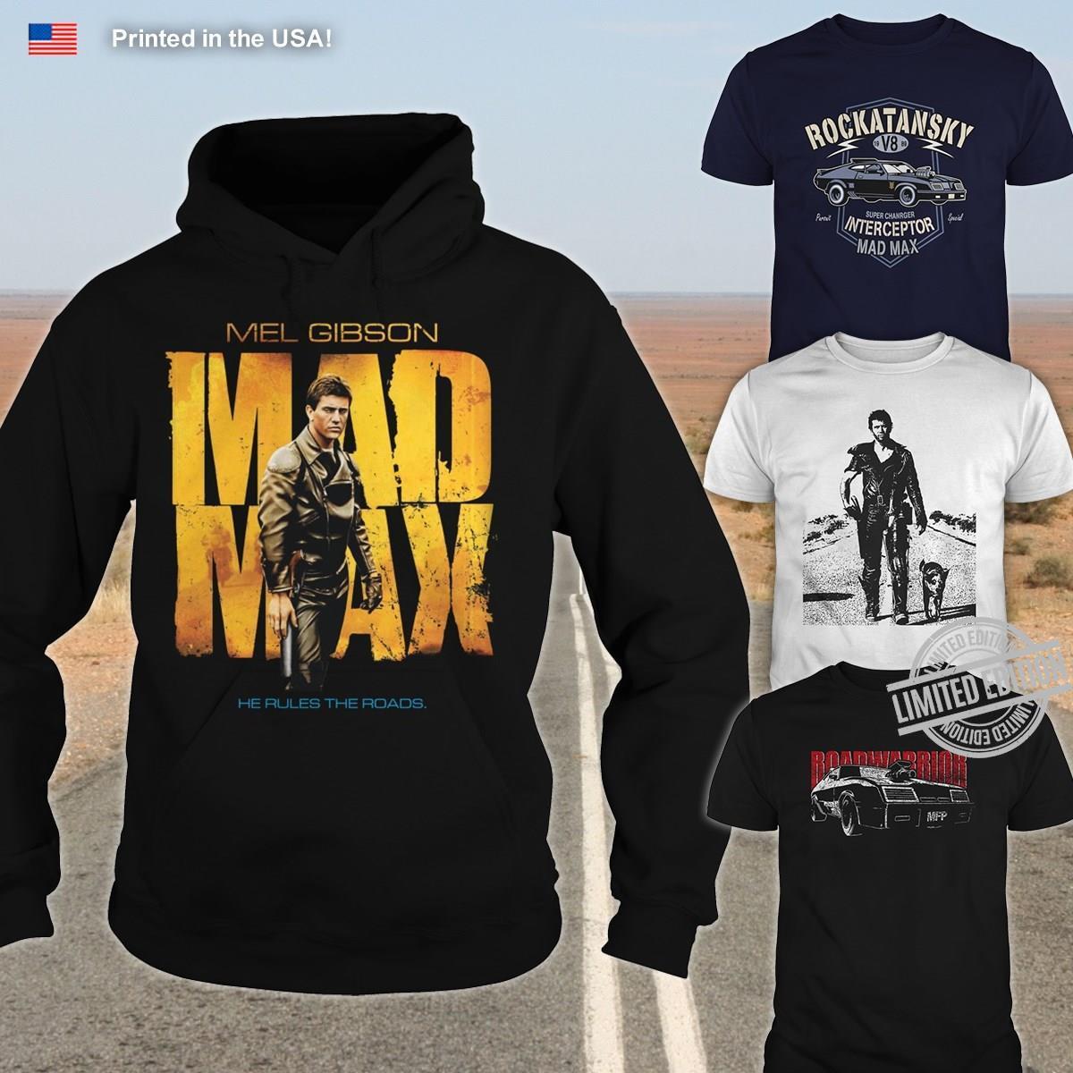 Mel Gibson Mad Max Shirt
